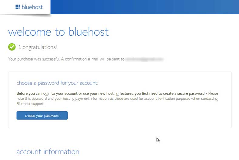 01.bluehost-signup-complete