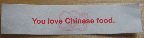 you love Chinese food