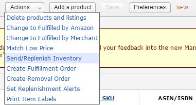 send fba inventory