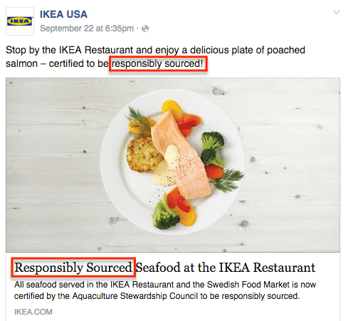 ikea targets healthy living
