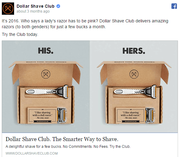 facebook-ad-examples-dollar-shave-club