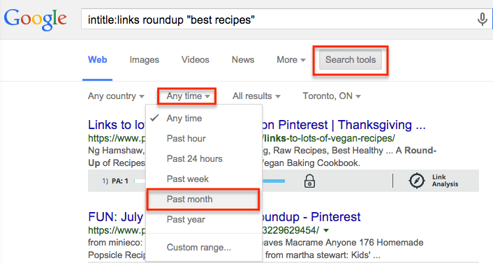 find link roundups