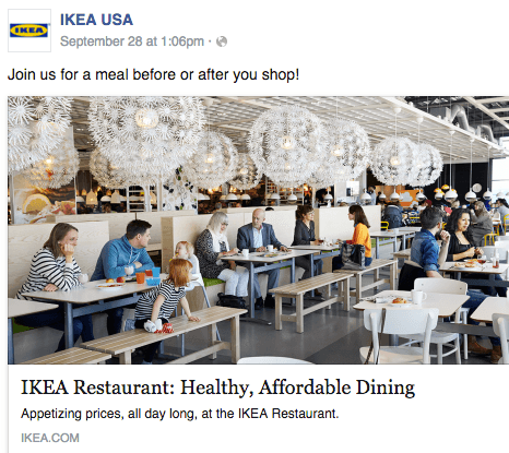Ikea target audience example